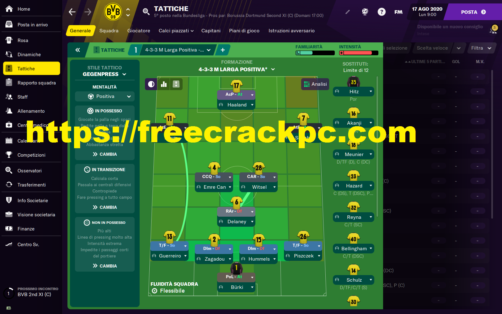Football Manager Crack 2021 With License Key Free Download