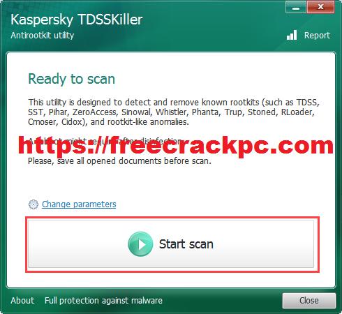 Kaspersky TDSSKiller Crack 2021 Plus Keygen Free Download