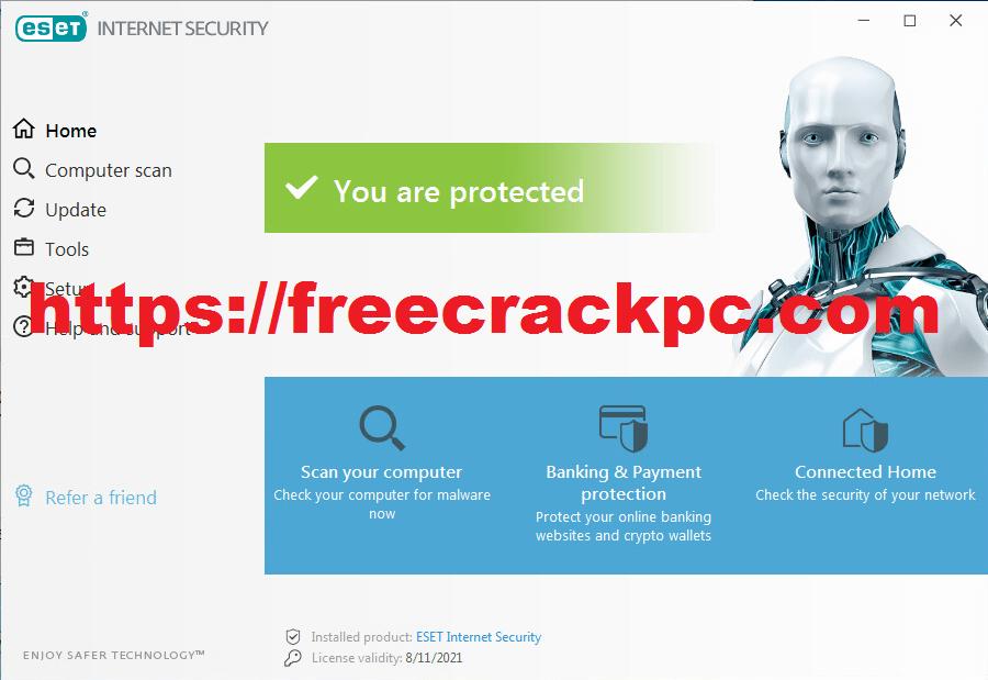 ESET Internet Security Crack 14.2.19.0 Plus Keygen Free Download
